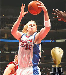Chris Kaman has come a long way from the backwoods.