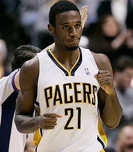 Kareem Rush has been invisible this season for the Pacers.