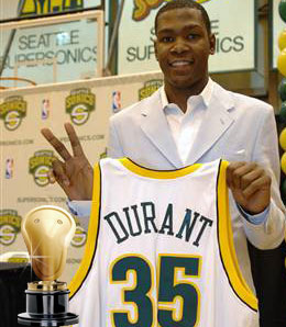 Kevin Durant is a seriously special rookie.