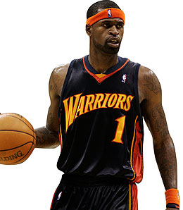 Stephen Jackson is draining his share of buckets this season.