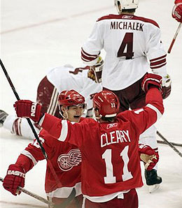 Dan Cleary will be out for the next couple of months.