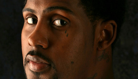 Larry Hughes lit it up for the Bulls last night.