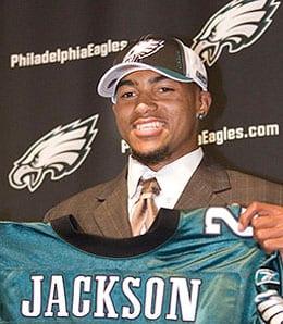 DeSean Jackson had a great rookie season for the Philadelphia Eagles.