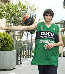 Ricky Rubio was the youngest player ever in the Spanish ACB League.