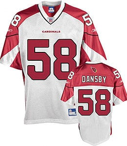 Karlos Dansby wanted a nice raise from the Arizona Cardinals.