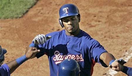 Julio Borbon enjoyed a tremendous debut for the Texas Rangers.