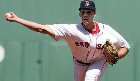 Justin Masterson has been dealt to the Cleveland Indians.