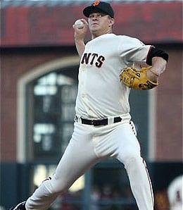 Matt Cain is having a superb season for the San Francisco Giants.