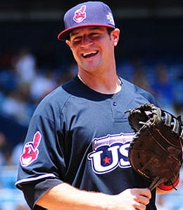 Matt LaPorta is now up to stay for the Cleveland Indians.