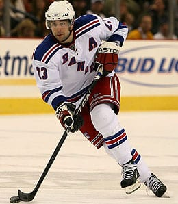 Chris Drury is not a good bet to have a breakout year for the New York Rangers.