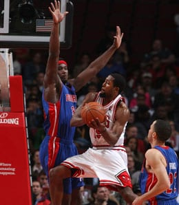 John Salmons is poised for a big season for the Chicago Bulls.