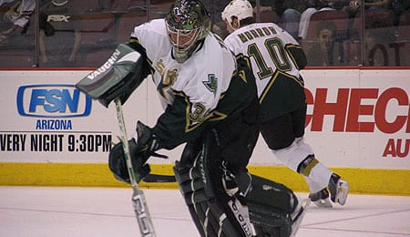 Marty Turco is on the downward trajectory of his career for the Dallas Stars.