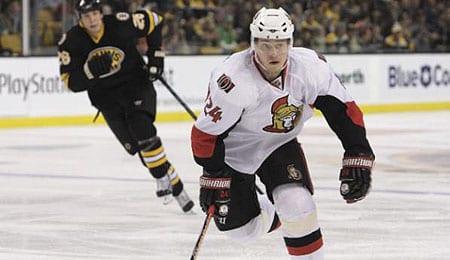 Anton Volchenkov is a force for the Ottawa Senators.