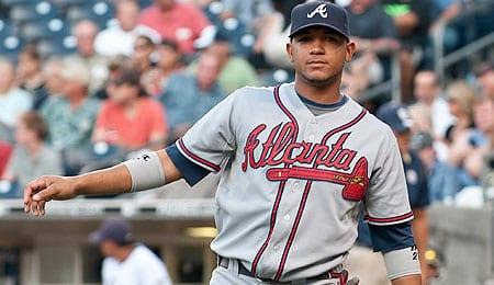 Diory Hernandez was unimpressive for the Atlanta Braves.