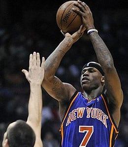 Al Harrington went off on Friday for the New York Knicks.