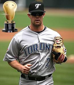 Aaron Hill made a miraculous recovery for the Toronto Blue Jays in 2009.