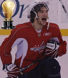 Alexander Ovechkin is the man for the Washington Capitals.