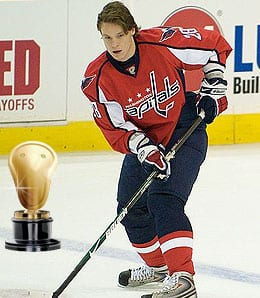 Alexander Semin is a superb bongo player for the Washington Capitals.
