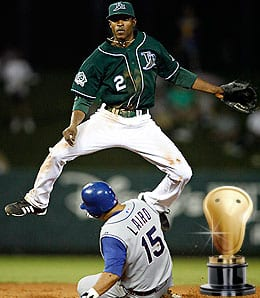 BJ Upton struggled through 2009 for the Tampa Bay Rays.