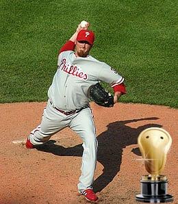 Brett Myers served up plenty of long balls for the Philadelphia Phillies.