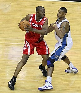Carl Landry has proven again that he's a beast for the Houston Rockets.