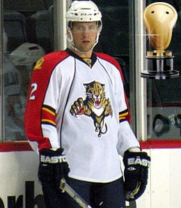 Keith Ballard too insanity to a new level for the Florida Panthers.