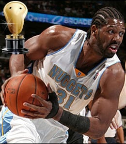 Nene was a steal for the Denver Nuggets.