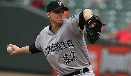 Roy Halladay is running on borrowed time for the Toronto Blue Jays.