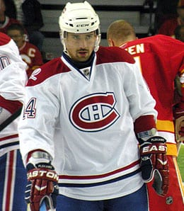 Tomas Plekanec is having a career year for the Montreal Canadiens.