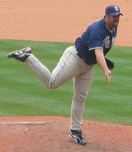 Heath Bell could be dealt by the San Diego Padres this season.