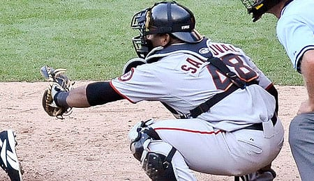 Pablo Sandoval should be the hitting star for the San Francisco Giants.