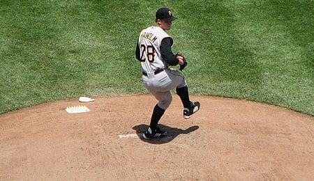 Paul Maholm could the ace of the Pittsburgh Pirates.