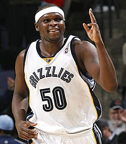 Zach Randolph has been excellent for the Memphis Grizzlies this season.