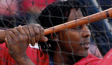 Vladimir Guerrero is the new clean-up hitter for the Texas Rangers.