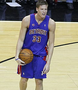 Jonas Jerebko enjoyed a solid rookie effort for the Detroit Pistons.