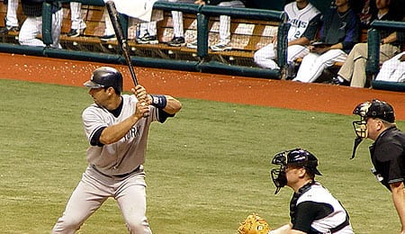 Jorge Posada is having his problems with the New York Yankees.