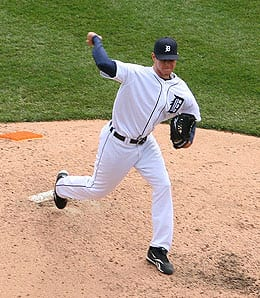 Ryan Perry has been getting hit lately for the Detroit Tigers.