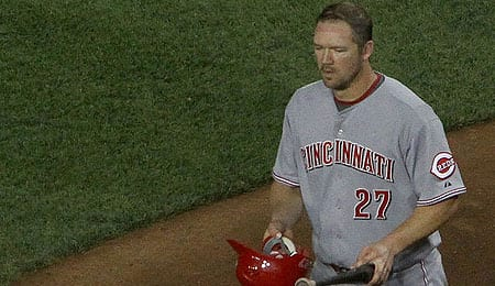 Scott Rolen is having a great year for the Cincinnati Reds.