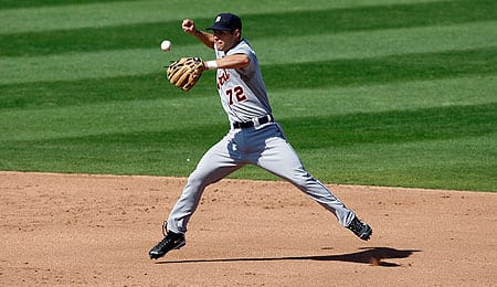 Scott Sizemore is going to get a chance to play regularly for the Detroit Tigers.