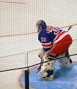 Henrik Lundqvist has become one of the top goalies in the league for the New York Rangers.