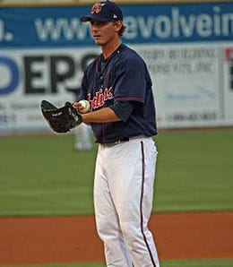 Josh Tomlin is looking sharp for the Cleveland Indians.