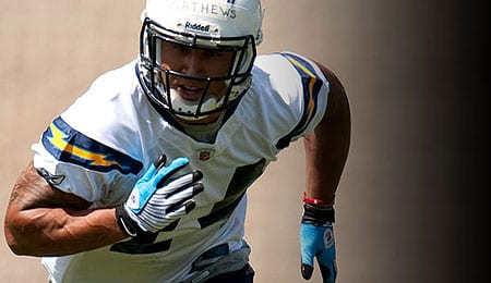 Ryan Mathews will be an impact player for the San Diego Chargers.