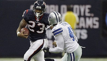 Arian Foster exploded for the Houston Texans in Week One.
