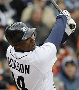 Austin Jackson is having a great season for the Detroit Tigers.