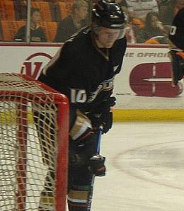 Corey Perry led the Anaheim Ducks in scoring last season.