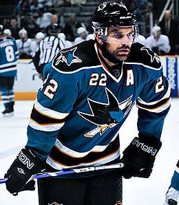 Dan Boyle is a superb offensive defensive for the San Jose Sharks.