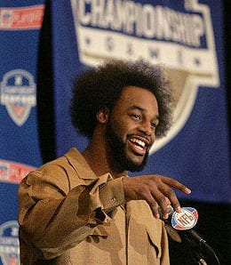 Donovan McNabb is now the man for the Washington Redskins.