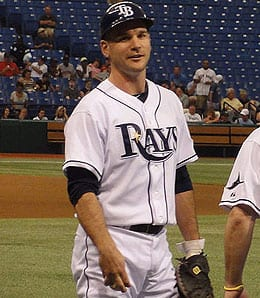 John Jaso is enjoying a fine season for the Tampa Bay Rays.