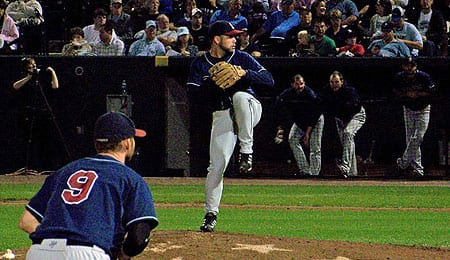 Josh Miller had a great year for the Somerset Patriots