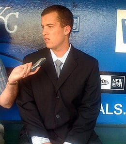 Danny Duffy is one of the top pitching prospects for the Kansas City Royals.